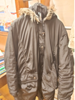 Large Black Womens' Winter coat